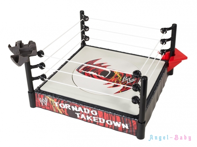 Ринг для Бойцов Титаны Реслинга WWE FlexForce Tornado Takedown Ring Торнадо Mattel (США) W6839