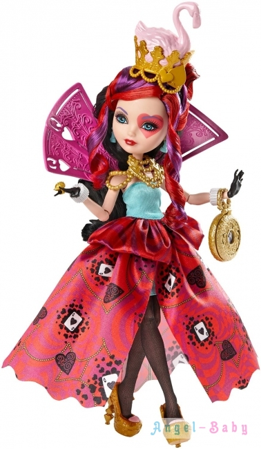 Кукла Ever After High Way Too Wonderland Lizzie Hearts Дорога в Страну Чудес Лиззи Хартс 28 см (США) CJF43