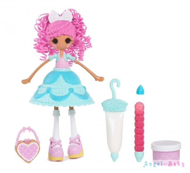 Набор Кукла MGA Lalaloopsy Girls Cake Fashion Fancy Frost N Glaze Лалалупси Глазурина с мастикой и глиттером 23 см (США) 536352