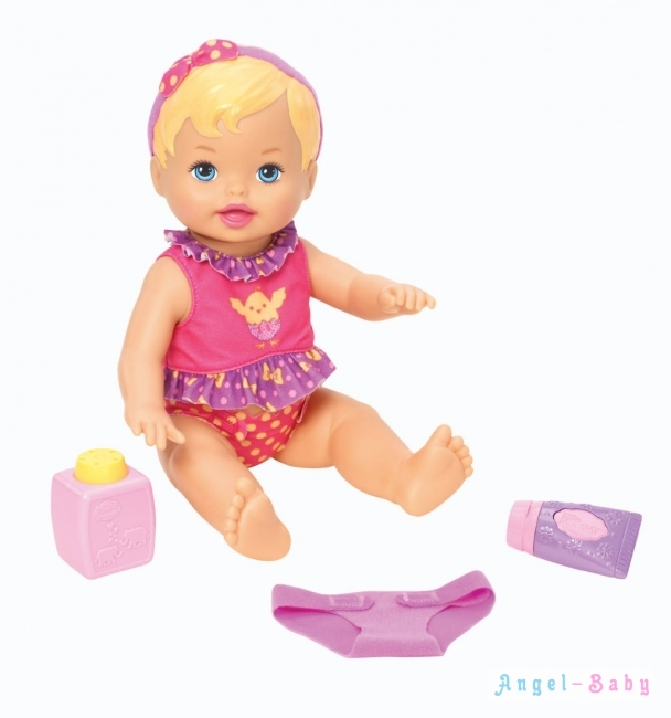 Кукла пупс Little Mommy Diaper Duty Doll Пеленание Куклы от Fisher-Price 33 см (США) X8687