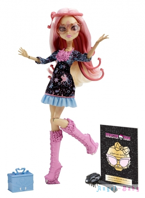 Кукла Monster High Frights Camera Action Viperine Gorgon Страх, Камера, Мотор Вайперина Горгон 26 см (США) BDD85