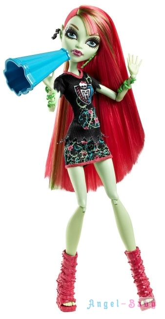 Кукла Monster High Ghoul Spirit Venus McFlytrap Гул Спирит Венера Макфлайтрап 26 см (США) BDF09