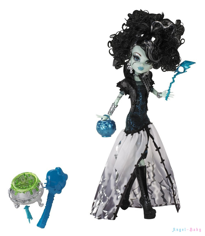Кукла Monster High Ghouls Rule Frankie Stein Хэллоуин Фрэнки Штейн 26 см (США) X3714
