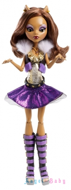 Кукла Monster High It s Alive Clawdeen Wolf Она живая Клодин Вульф 26 см (США) Y0422