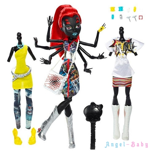 Кукла Monster High Wydowna Spider I Love Fashion Вайдона Спайдер Я Люблю Моду 26 см (США) CBX44