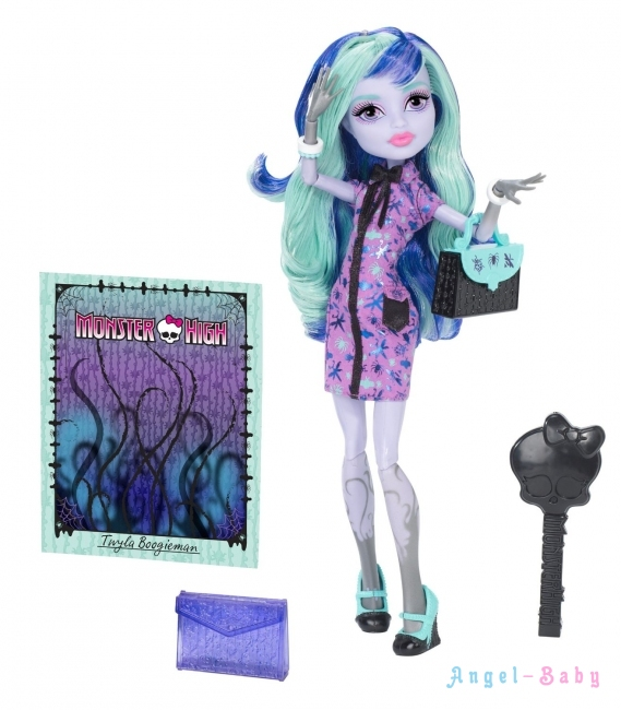 Кукла Monster High New Scaremester Twyla Новый Скарместр Твайла 23 см (США) BJM42