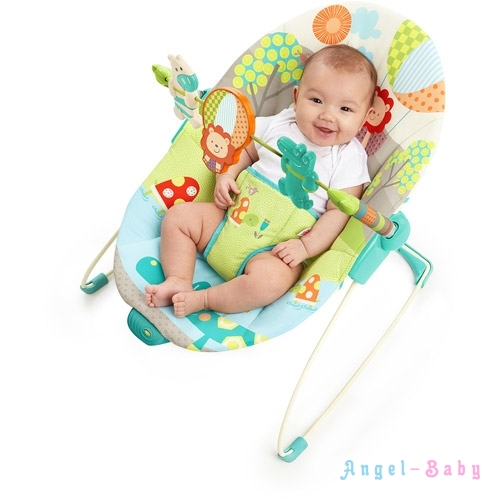 Виброшезлонг с рождения Kids II/ Bright Starts Up, Up and Away Bouncer 60049